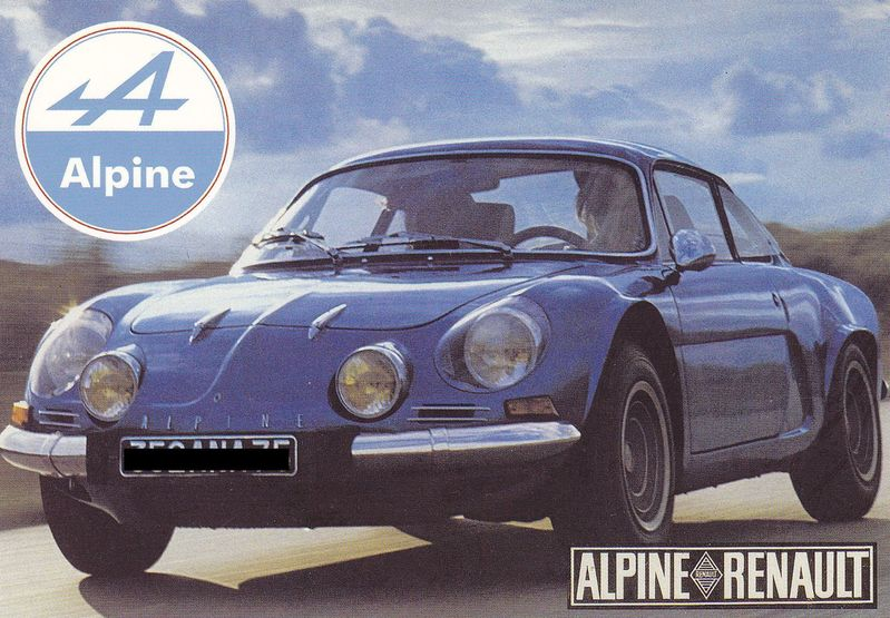 alpine renault 0014 automobiles de sports et de courses alpine renault france. Black Bedroom Furniture Sets. Home Design Ideas