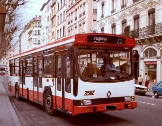 berliet bus de lyon france autobus car trolleybus. Black Bedroom Furniture Sets. Home Design Ideas