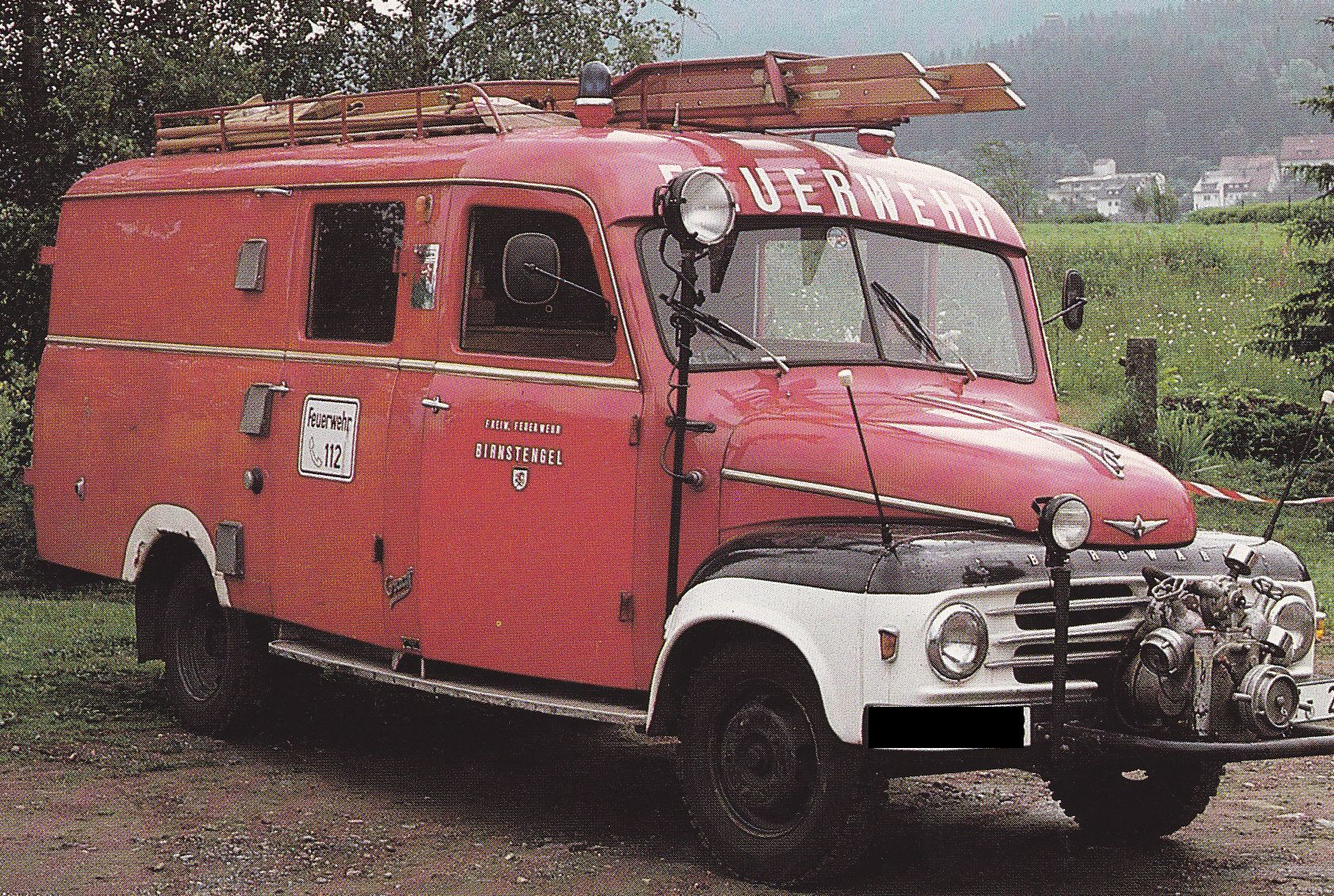 Borgward Lkw Feuerwehr...