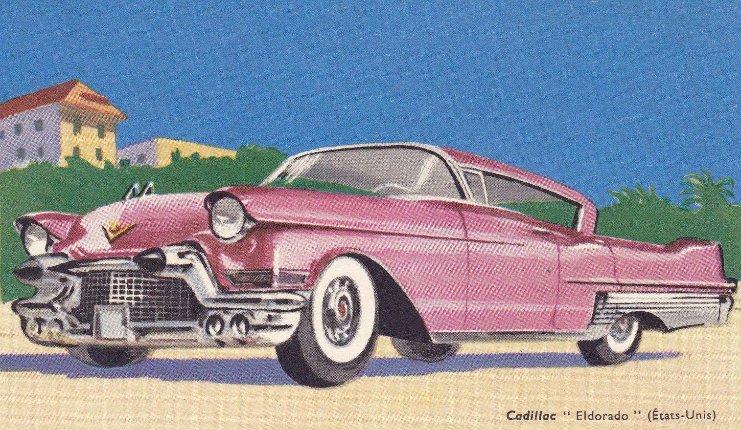 Cadillac Eldorado (usa) Dessin | Dessins, Peintures ...