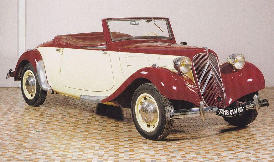 citroen ta cabriolet 1937 france musee automobile de vendee mus e citro n france. Black Bedroom Furniture Sets. Home Design Ideas