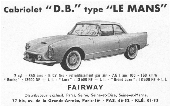 db panhard le mans coup panhard france pl apr s guerre autoalmanach partage de. Black Bedroom Furniture Sets. Home Design Ideas