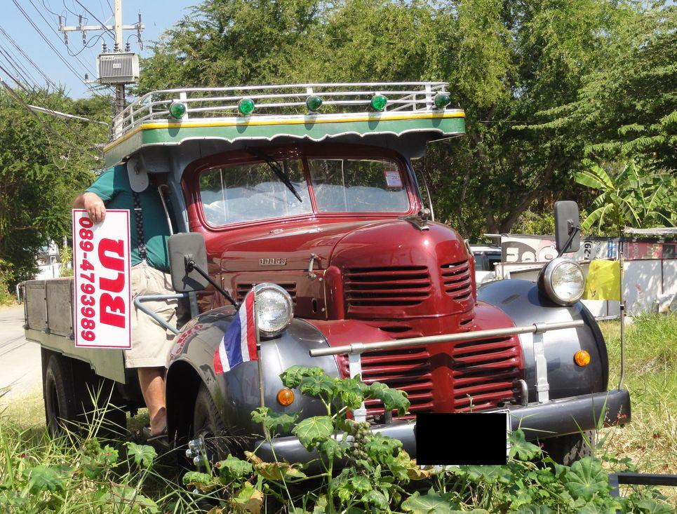 dodge fargo  usa thailande camion poids lourds dodgeusa autoalmanach partage de