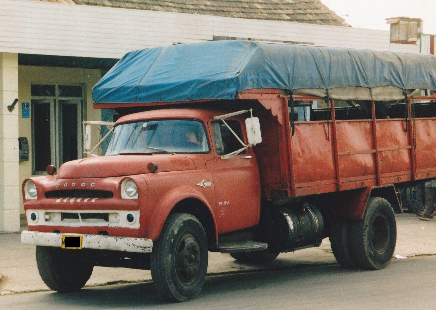dodge truck usa cuba camion poids lourds dodgeusa autoalmanach partage de
