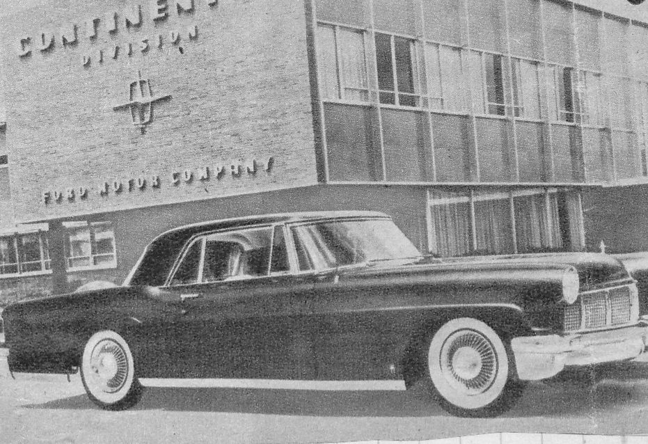 lincoln continental 1956 usa photo d usine us route sixtysix the mother road lincoln usa. Black Bedroom Furniture Sets. Home Design Ideas