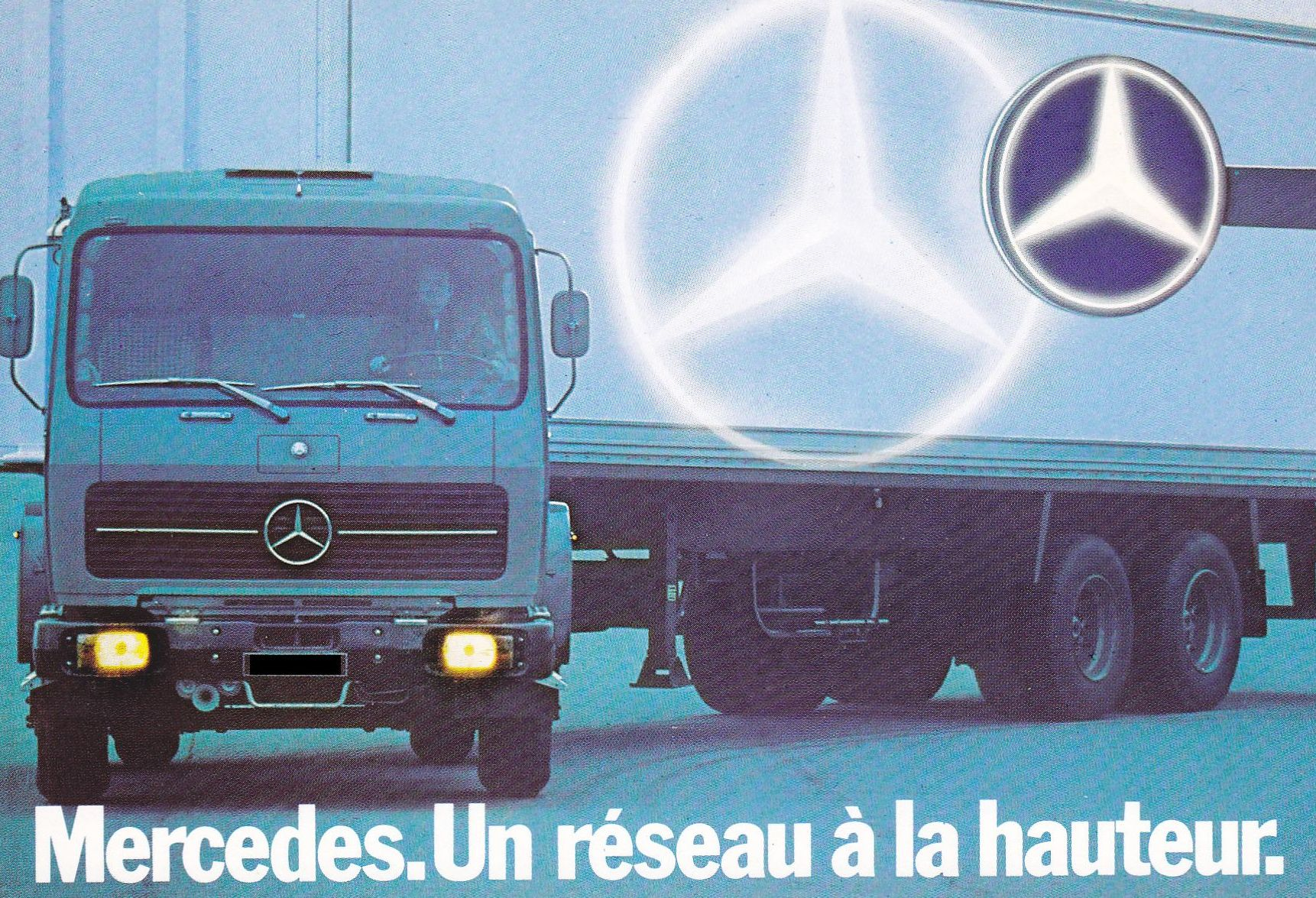 Mercedes Benz Deutschland Pub Magazine Carte Postale