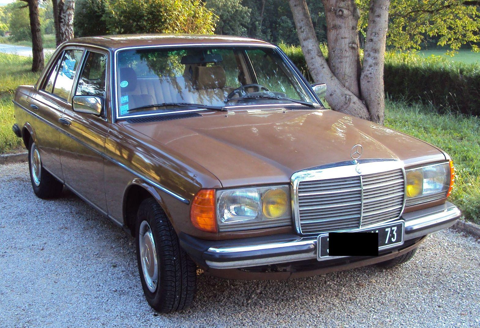 mercedes benz 240diesel 1981 deutschland voiture de. Black Bedroom Furniture Sets. Home Design Ideas