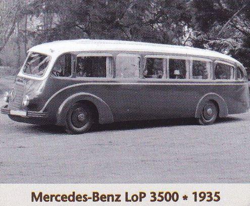 Mercedes Benz Lop 3500 1935 Deutschland Bus Autobus
