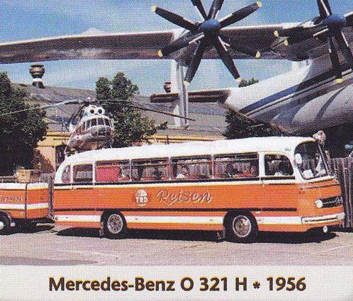 Mercedes Benz O 321 H 1956 Deutschland Autobus Car