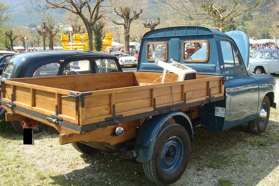 renault prairie pick up france 1956 pick up renault trucks f autoalmanach partage de. Black Bedroom Furniture Sets. Home Design Ideas