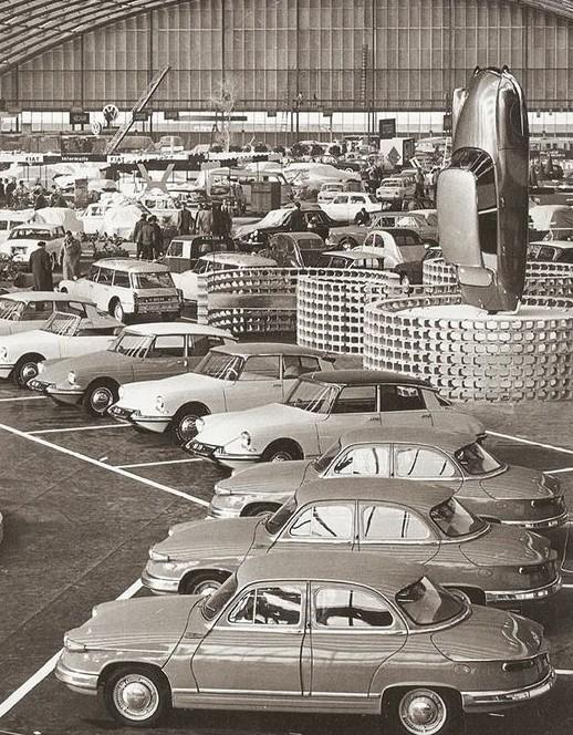 Salon de l automobile paris 1964 citroen panhard salon for Offre d emploi salon de l auto geneve